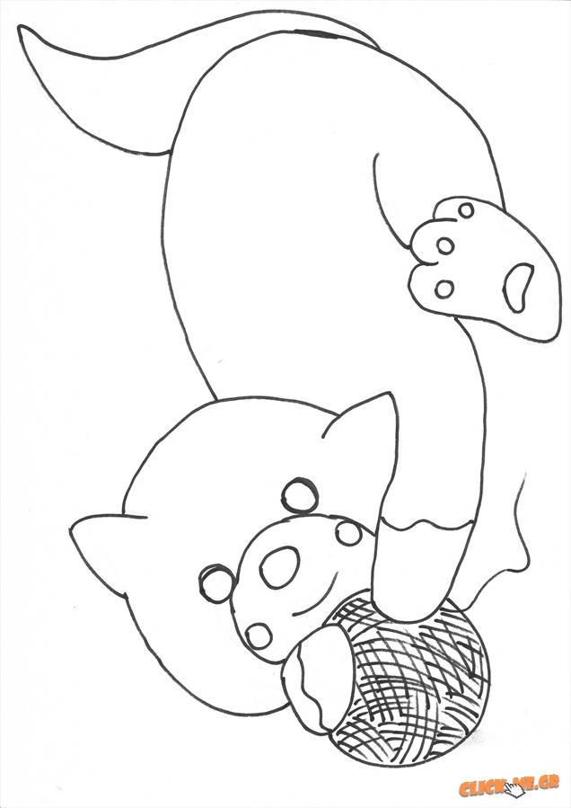 Ζωγραφική γατακι