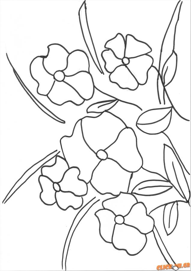 Ζωγραφική λουλούδια
