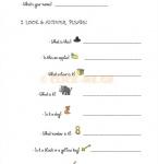 Junior A  Αγγλικά  Ασκήσεις - Practice Unit 1-a